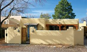 pueblo revival houses in santa fe front yards santa fe and yards