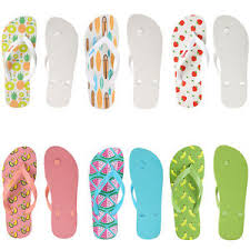 aerusi women summer cartoon fruit bathroom non slippers flip flops