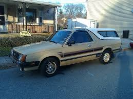 subaru brumby nicest brat you u0027ll find 1984 subaru brat gl