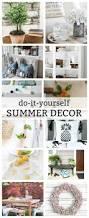 Diy Summer Decorations For Home A Pretty Faux Coral U0026 Starfish Coastal Summer Centerpiece