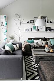 amazing living room accented with turquoise adorable home home