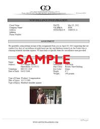 investigation report template investigator report templates free business template