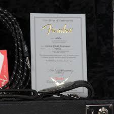Custom Purchasing Used Fender Custom Shop Custom Classic Stratocaster Make U0027n Music