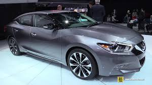 nissan maxima youtube 2015 2016 nissan maxima sr exterior and interior walkaround debut