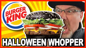 burger king a1 halloween whopper review from niagara falls