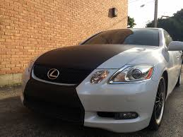 lexus wrapped car roof vinyl wrap installation service