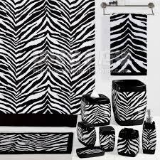 zebra print shower curtain amazing curtains interior design ideas