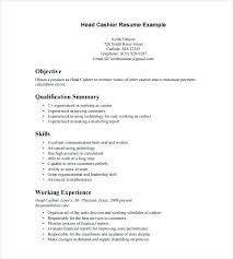 experienced resume sample fast food resume job description of a cook in a restaurant fast