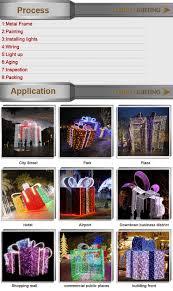 lighted christmas decoration gift box light buy led motif