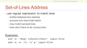 pattern matching using awk exles csci 330 unix and network programming ppt video online download