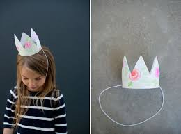 party crown template felt crown pattern1 by cara mia via flickr