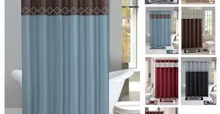 shower awesome bathroom shower curtains ruffle shower