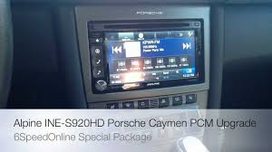 porsche pcm head unit replacement cd dvd touch screen 997 turbo