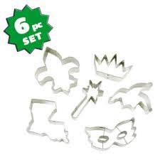 mardi gras cookie cutters cake decorations food picks mardigrasoutlet
