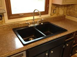 how to install a kitchen sink in a new countertop inset sink how to install new kitchen sink drain assembly pipe