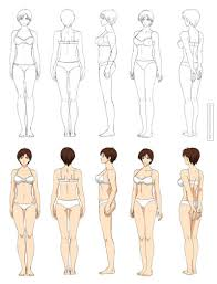 Human Anatomy Full Body Picture Anime Anatomy Full Body Commission By Precia T Deviantart Com