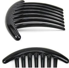 hair clip types best plastic magic types of hair comb black color bridal cuff