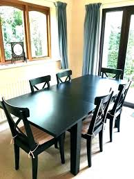 black and wood dining table black dining room tables tapizadosraga com