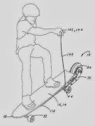 the patent search blog skateboard inventions with a difference