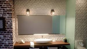 Transitional Vanity Lighting Uql2650 Transitional Bathroom Vanity Light 8 75 H X 6 75 W