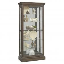 curio cabinet corneret dining room furniture amish mission style