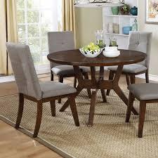 furniture of america abalone 5 pcs dining set cm3354rt