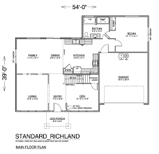 richland first floor multilevel home true built home on