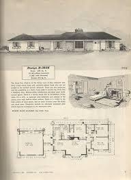 1950s Ranch House Plans | elegant 1950s ranch house plans new home plans design