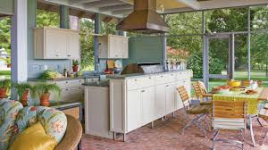 screened in porch plans ultimate outdoor kitchen design ideas southern living