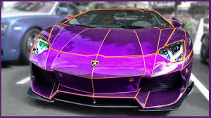 purple ferrari summer supercar invasion of london 2013 youtube