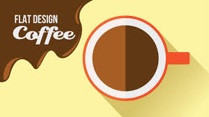 flat design adobe illustrator tutorial how to create a flat design coffee