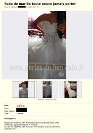 annulation de mariage vend robe de mariée cause annulation du mariage perles du