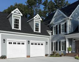 traditional series steel garage doors