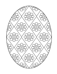 free easter printables printable easter egg coloring page 5