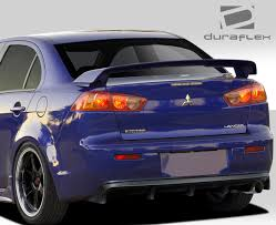 mitsubishi galant body kit 2008 2014 mitsubishi lancer 4 dr m power style rear diffuser
