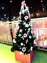 Hello Kitty Christmas Tree Decorations Christmas Comes To Sanrio Puroland My Melody U0027s Christmas Market