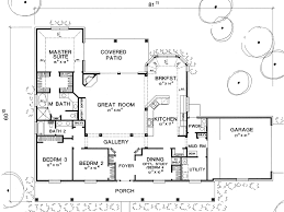thehousedesigners the mitchell 5416 4 bedrooms and 2 baths the house designers