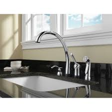 delta touch2o kitchen faucet delta chrome finish pilar collection single handle kitchen faucet