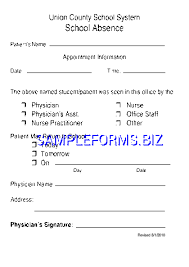 doctors note template 2 pdf free u2014 1 pages