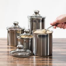 Kitchen Canisters Stainless Steel 100 Kitchen Counter Canisters Best 25 Canisters Ideas Only