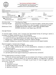 Intensive And Reflexive Pronouns Worksheet Las Grade 11 Reaction Paper