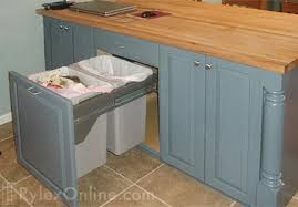 kitchen island trash bin kitchen island trash zhis me