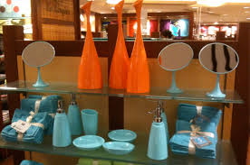 Bright Blue Bathroom Accessories by Owl Theme For A Bathroom At Home With Kim Vallee