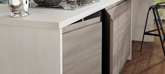 white gloss kitchen doors integrated handle lioher contemporary furniture components