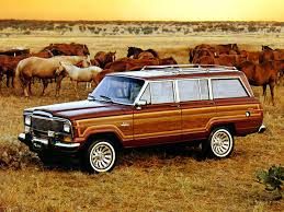 brown jeep jeep history in the 1980s