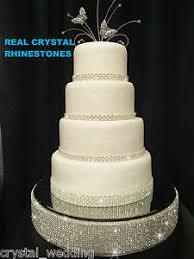 rhinestone cake stand diamante rhinestone wedding cake stand mirrored real swarovski