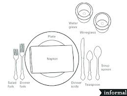 how to set a formal dinner table basic table setting for dinner proper table setting dining table
