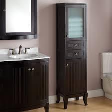 high bathroom cabinet amazing narrow bathroom cabinets 1 tall
