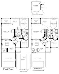 surrey crest loft new home plan downingtown pa pulte homes first floor options