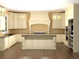 U Shaped Kitchen Designs With Breakfast Bar by Eposed Beam Ceiling U Shape Kitchen Design With Classic Stove And